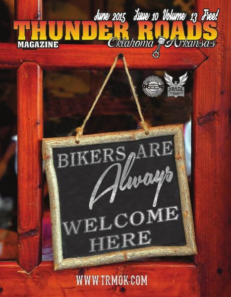Thunder Roads Magazine of Oklahoma/Arkansas June 2015