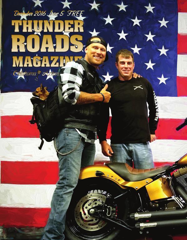 Thunder Roads Magazine of Oklahoma/Arkansas December 2016