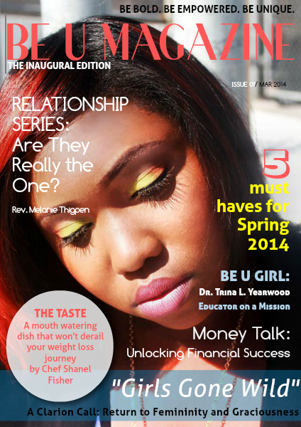 BE U Magazine MAR 2014