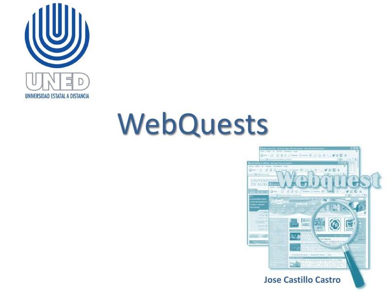 Webquest como guía