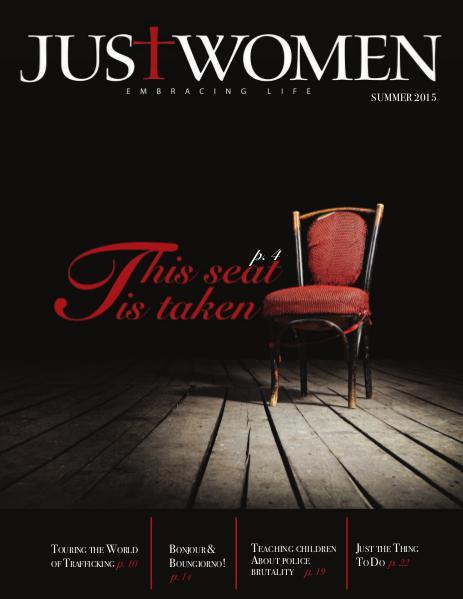 Just Women Magazine Summer 2015