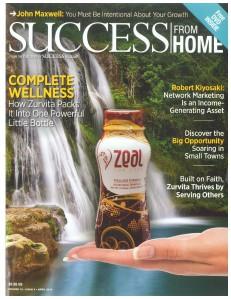 Success From Home Magazine - April 2014 Zurvita Volume 10 Issue 4