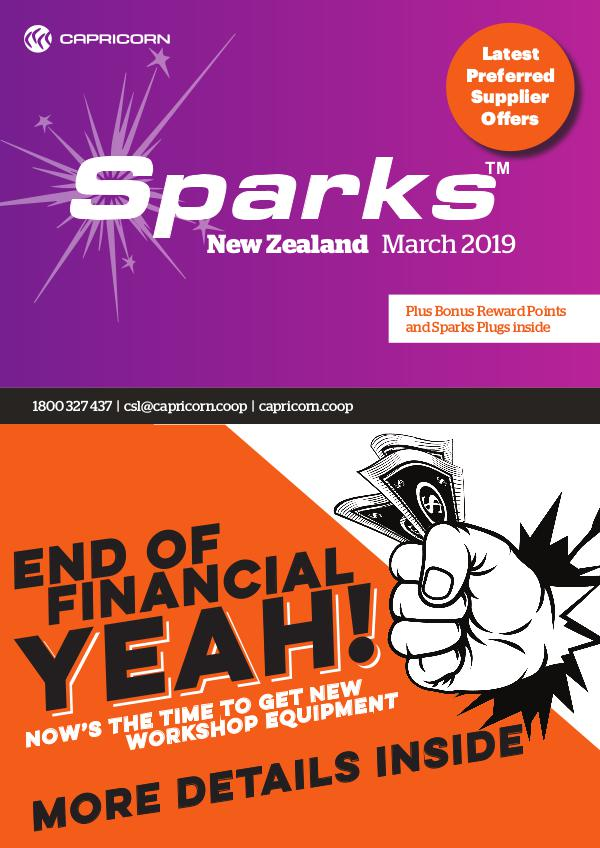 MARCH 2019 NZ SPARKS ONLINE