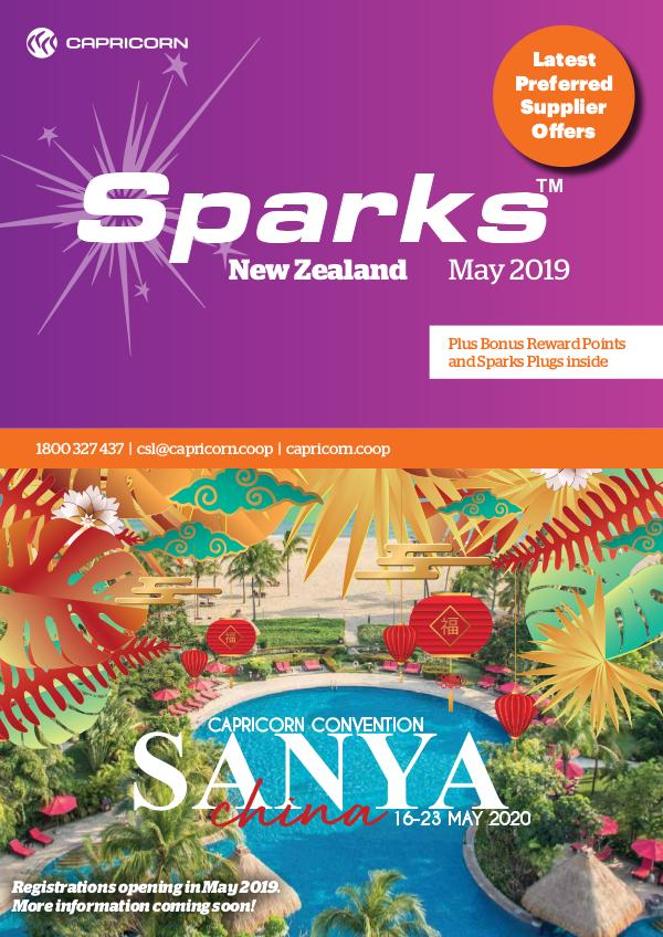 Sparks New Zealand MAY 2019 SPARKS NZ ONLINE