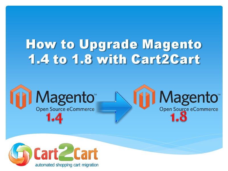 How to Upgrade Magento 1.4 to 1.8 with no efforts