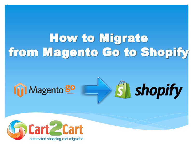 Accurate Move from Magento Go to Shopify