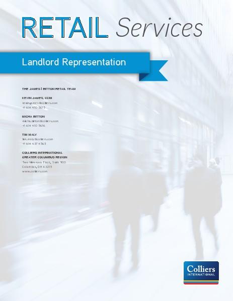 James | Bitton Retail Team Landlord Represention