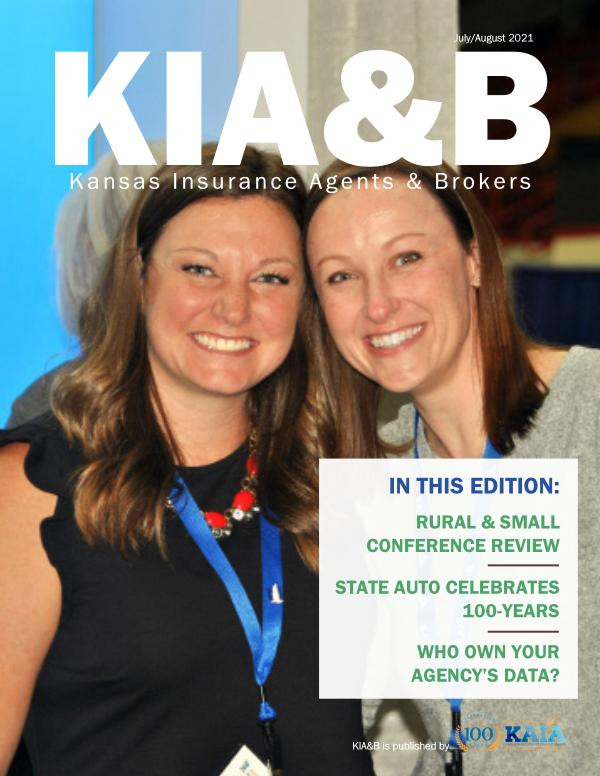 KIA&B July/August 2021
