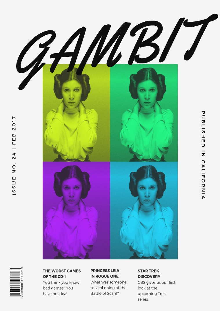 GAMbIT Magazine Issue #24 February 2017