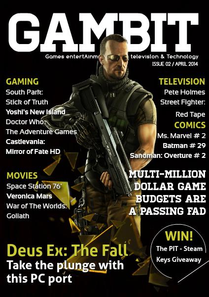 GAMbIT Magazine Apr. 2014