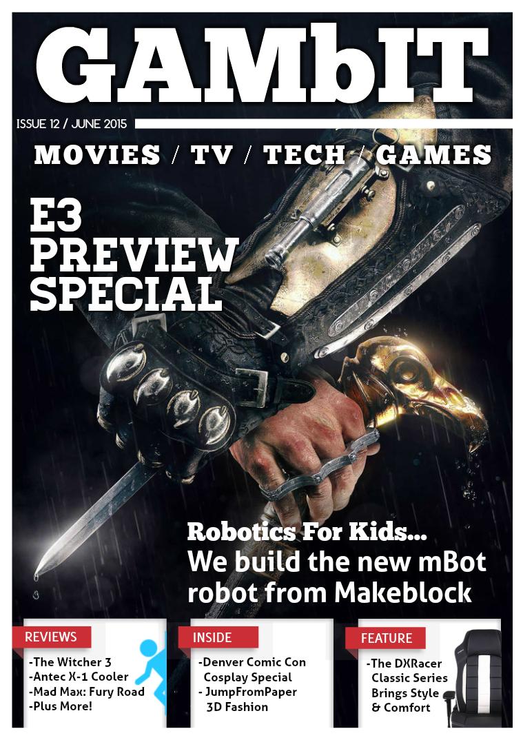 GAMbIT Magazine Issue #12 June 2015