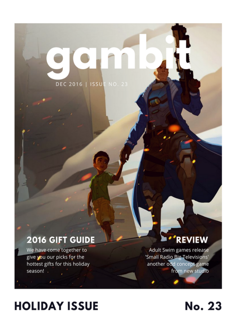 GAMbIT Magazine Issue #23 Dec 2016