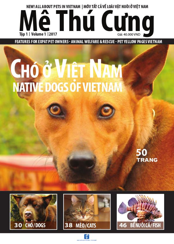 Mê Thú Cưng - Pet Magazine for Vietnam Native Dogs in Vietnam  Issue