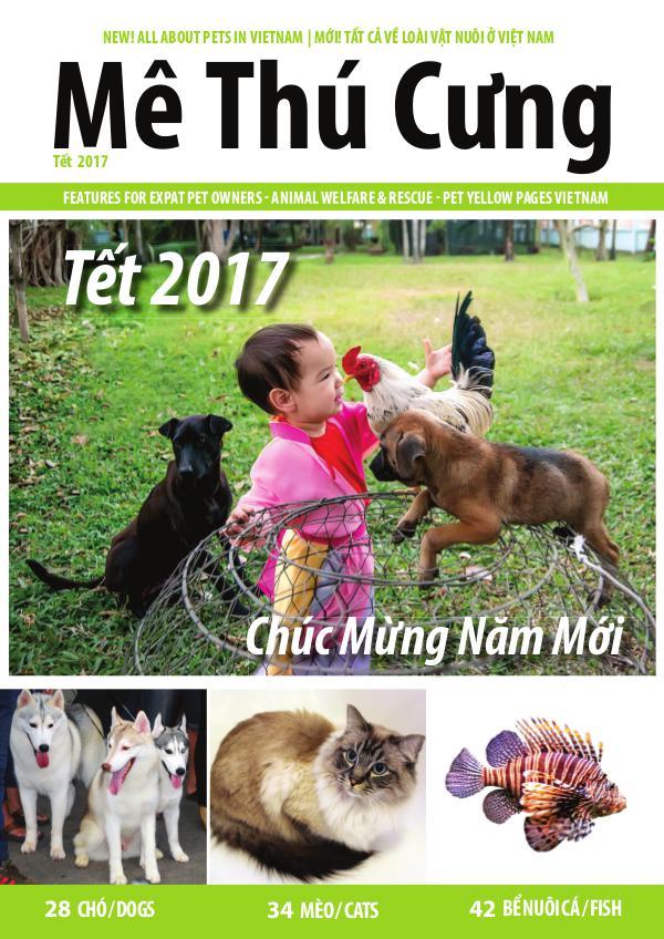 Mê Thú Cưng - Pet Magazine for Vietnam TET 2017 Issue