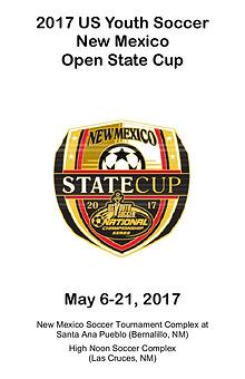 New Mexico State Cup Program