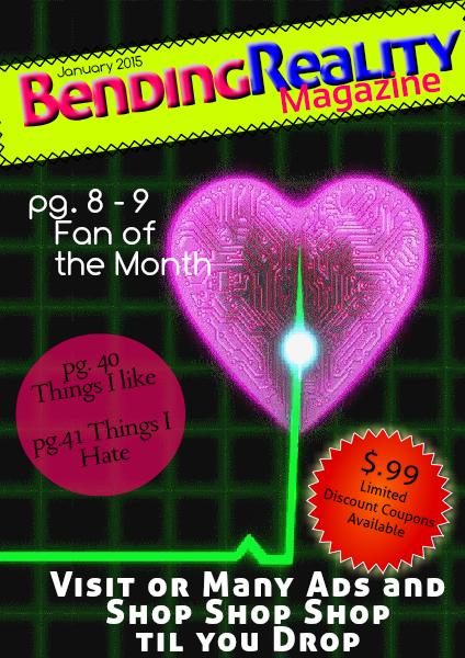 Bending Reality Magazine January