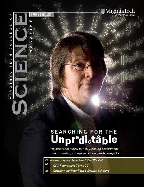 VT College of Science Magazine Spring 2007