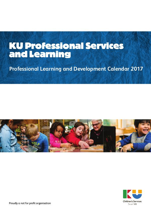 KU Professional Learning NSW Calendar 2017
