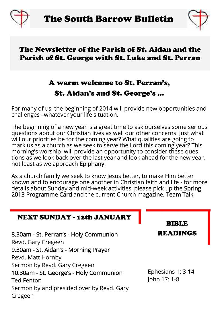 The South Barrow Bulletin 2014 05/01/2014