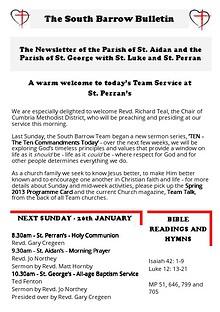 The South Barrow Bulletin 2014
