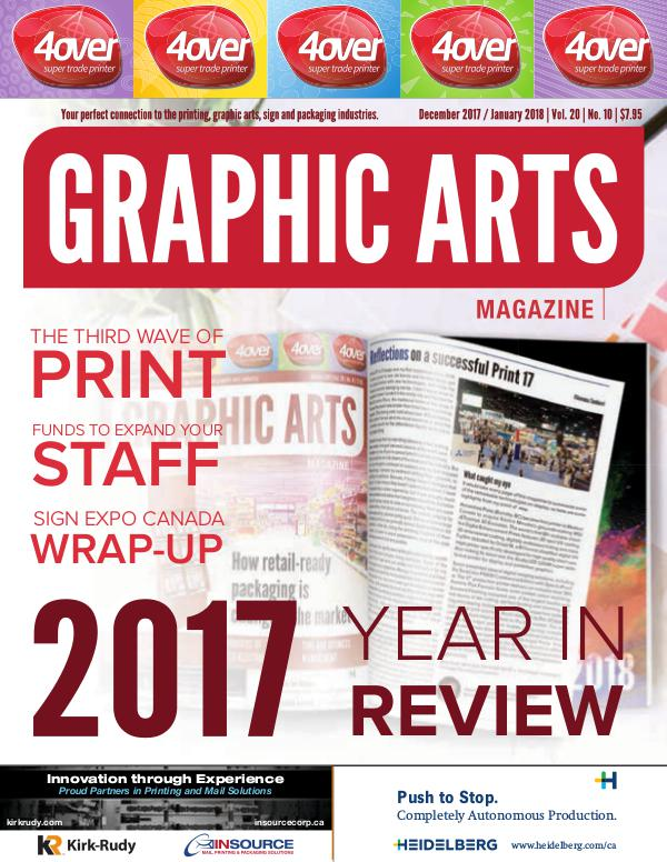Graphic Arts Magazine December 2017 / January 2018