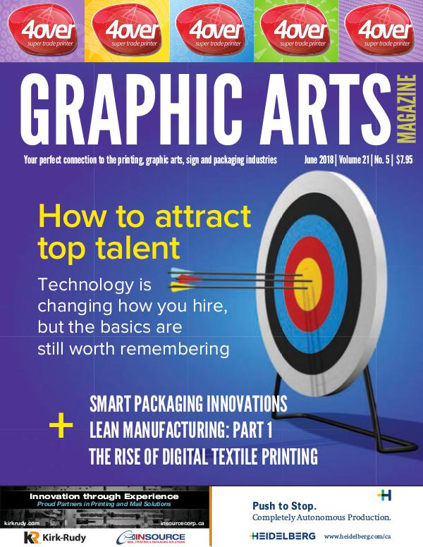 Graphic Arts Magazine June 2018
