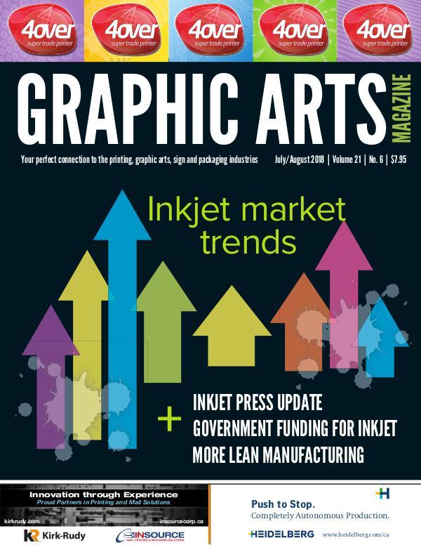Graphic Arts Magazine July / August 2018
