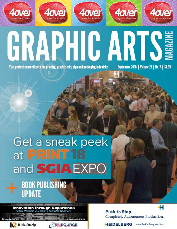 Graphic Arts Magazine September 2018