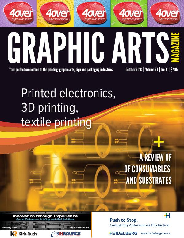 Graphic Arts Magazine October 2018