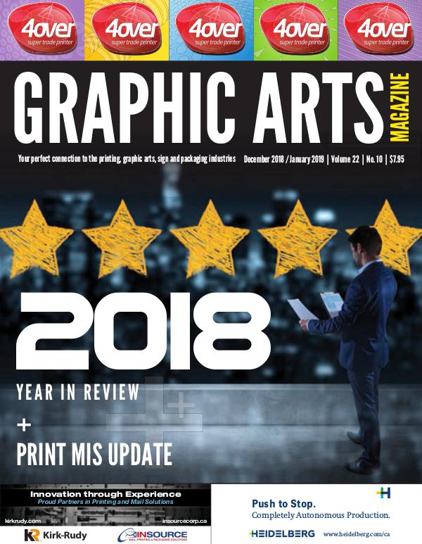Graphic Arts Magazine December 2018 / January 2019