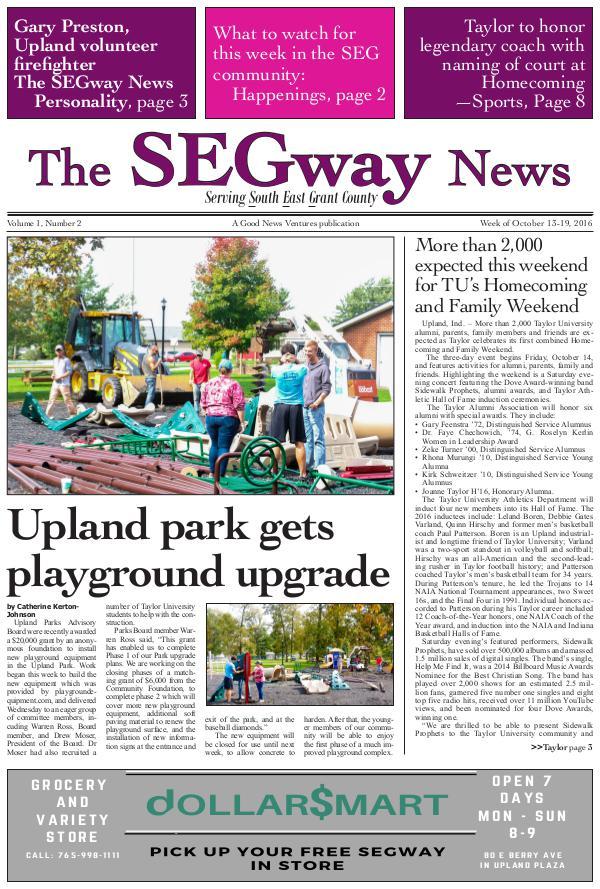 The SEGway News 2
