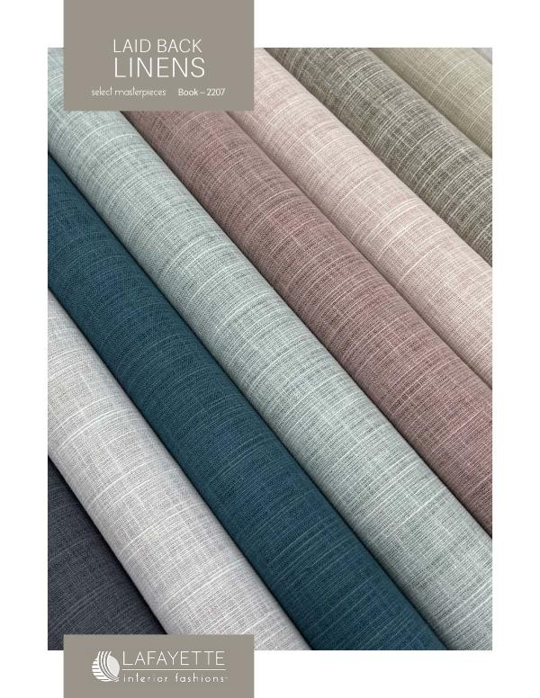 Select Masterpieces Fabric Collections 2021 Book 2207 | Lain Back Linens | 2021