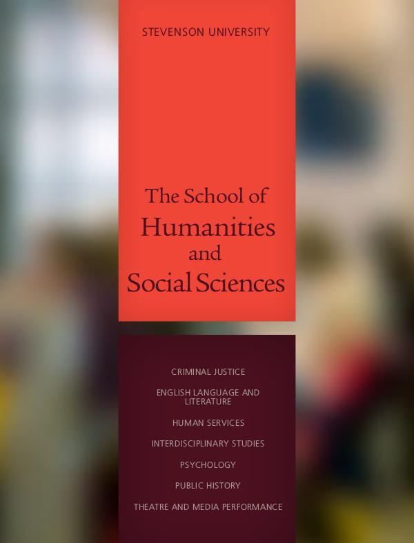 Schools The School of Humanities and Social Sciences