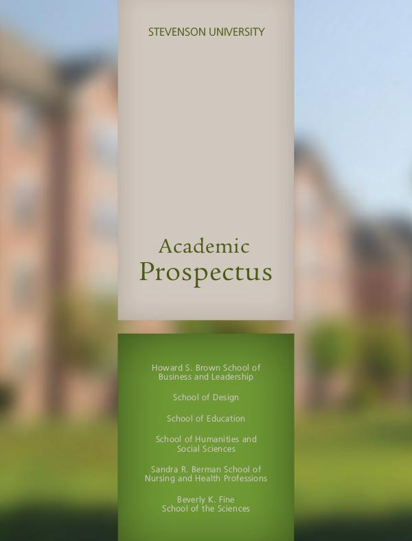 Schools Academic Prospectus