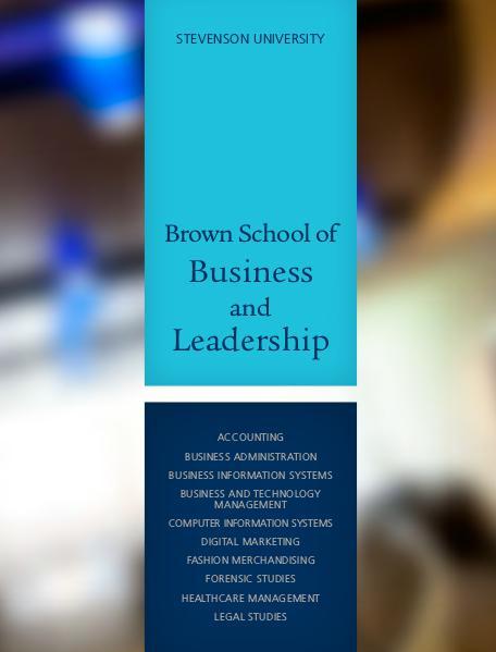 Schools Brown School of Business and Leadership