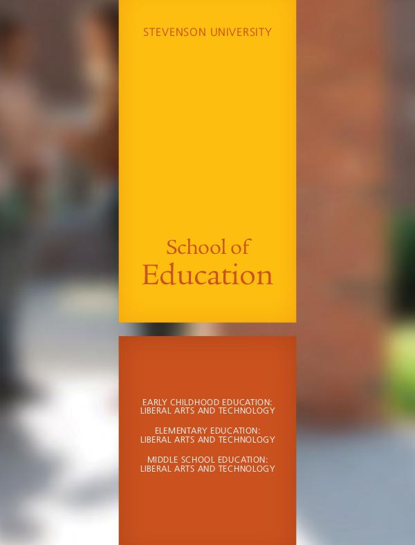 Schools School of Education