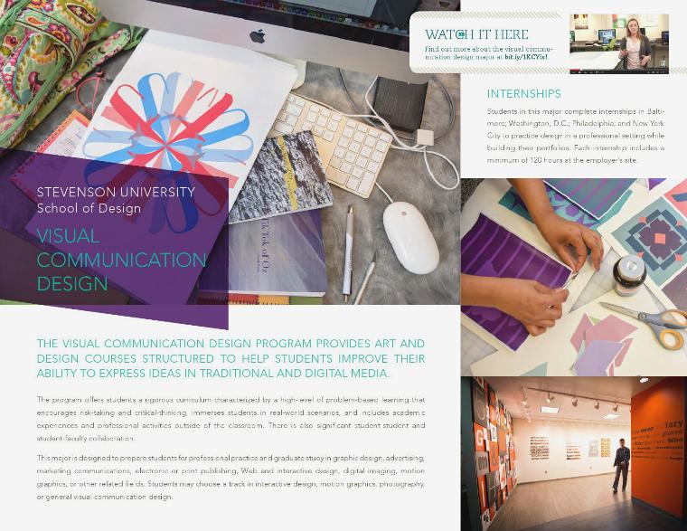 School of Design Visual Communication Design