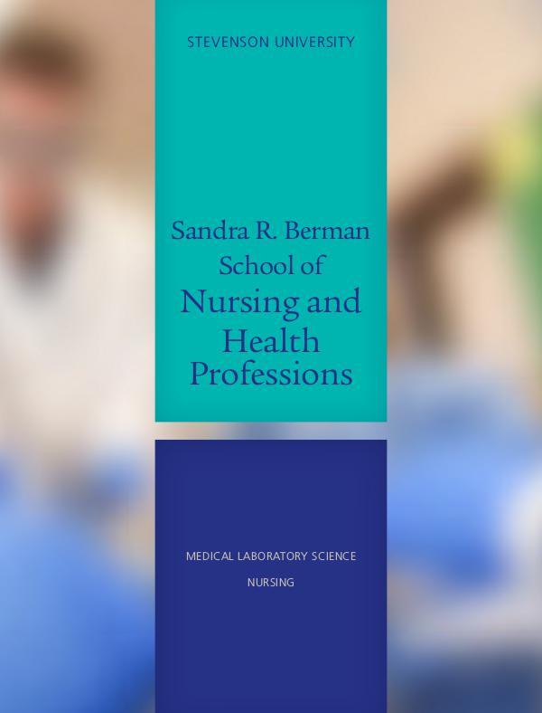 Schools School of Health Professions