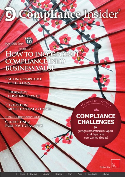 Compliance Insider® Issue 10 May–Jun 2014
