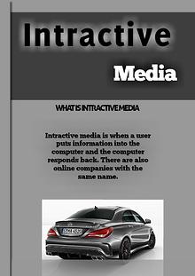 Intractive media