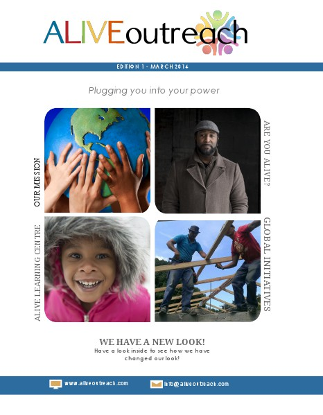 March 2014 Alive Outreach Magazine