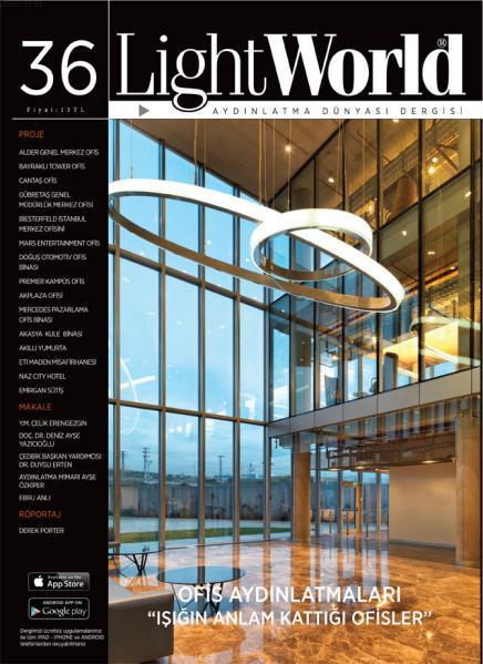 LightWorld Sayı 36. Ofis Aydınlatmaları