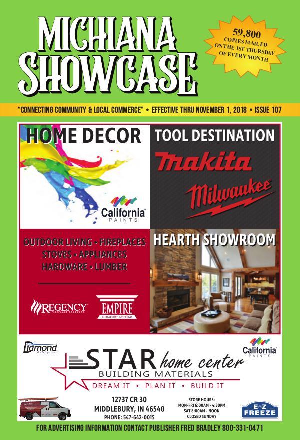 Michiana Showcase 107 - October 2018