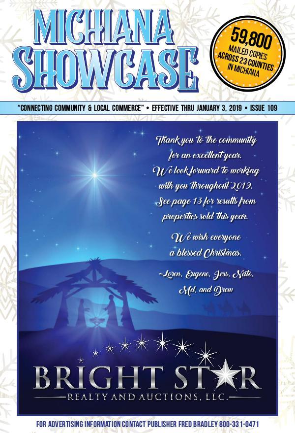 Michiana Showcase 109 - December 2018