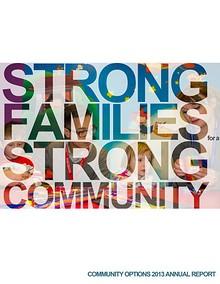 Community Options Annual Report