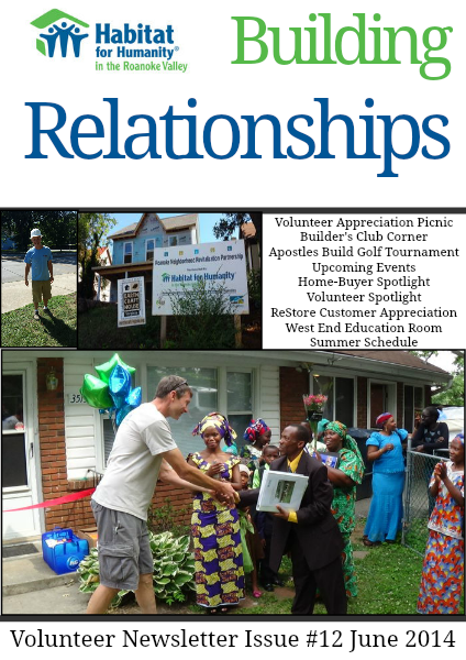 Building Relationships Issue #12 June 2014