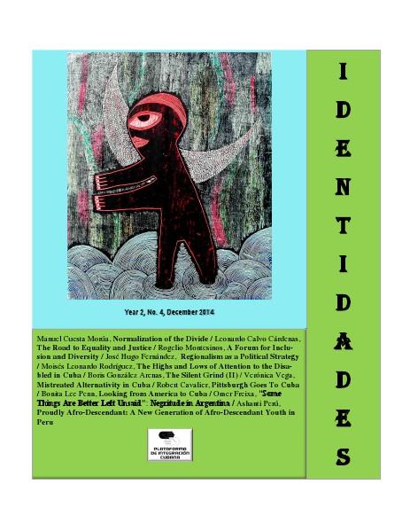 Identidades in English No 4, December 2014