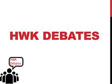 HWK Debates Partnership Details