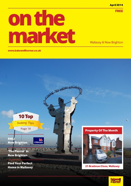 On The Market - Wirral's No1 Property Magazine April 2014