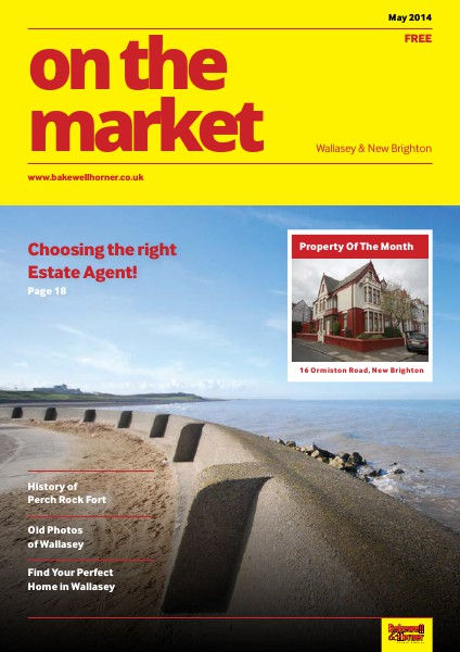 On The Market - Wirral's No1 Property Magazine May 2014